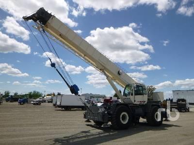2008 TEREX RT555-1 55 Ton 4x4x4 Rough Terrain Crane