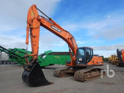 2012 DOOSAN DX255LC Hydraulic Excavator
