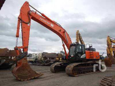 2015 HITACHI ZX470LC-5B LC Hydraulic Excavator