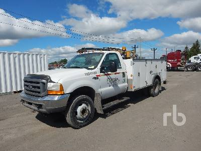 1999 FORD F450 S/A Utility Truck