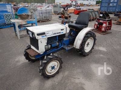 SATOH S-370D 2WD Utility Tractor