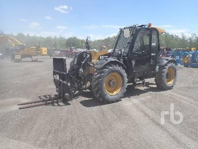 2016 CATERPILLAR TH407C 8150 Lb 4x4x4 Telescopic Forklift
