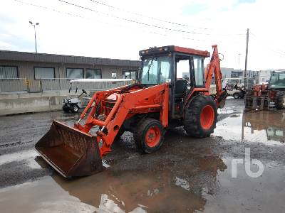 2005 KUBOTA L48 Loader Backhoe