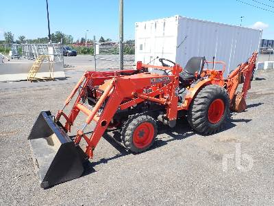 2006 KUBOTA B21 4x4 Mini Loader Backhoe