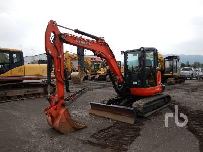 2012 KUBOTA KX057-4 Mini Excavator (1 - 4.9 Tons)