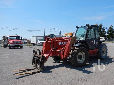 2001 MANITOU MT1637 8157 Lb 4x4x4 Telescopic Forklift