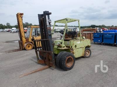 1984 CLARK C500 Y100 10000 Lb Forklift