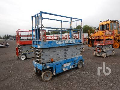 2011 GENIE GS3232 Electric Scissorlift