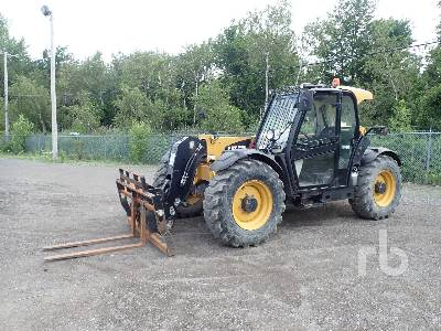 2014 CATERPILLAR TH407C 8150 Lb 4x4x4 Telescopic Forklift