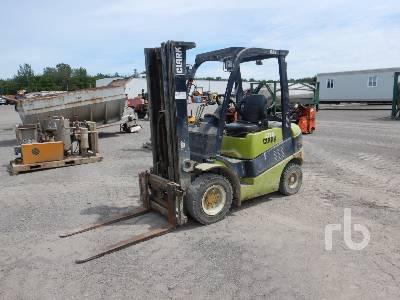CLARK C25L 4050 Lb Forklift