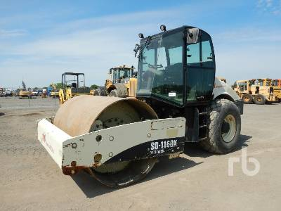 2007 INGERSOLL-RAND SD116DX Vibratory Roller