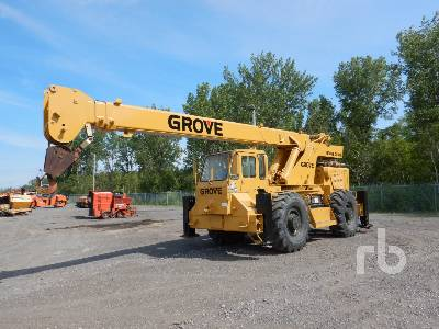 1974 GROVE RT60 18 Ton 4x4 Rough Terrain Crane