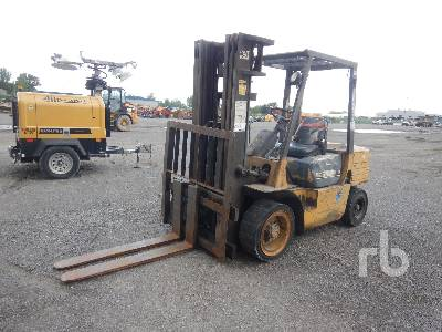 1994 CATERPILLAR DP30 6000 Lb Forklift