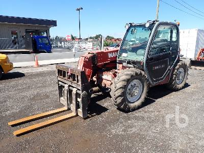 2003 MANITOU MLT523T 4x4x4 Telescopic Forklift