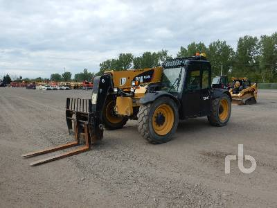 2013 CATERPILLAR TL642C 6600 Lb 4x4x4 Telescopic Forklift