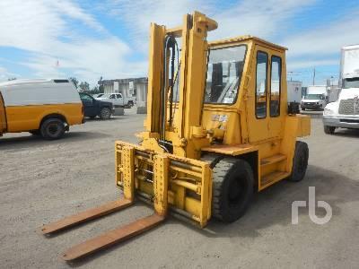 1987 TCM FD70Z7 15500 Lb Forklift