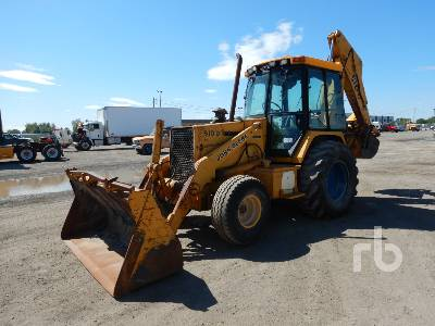 1991 JOHN DEERE 510D Loader Backhoe