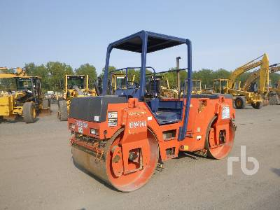 2000 BOMAG BW141AD-2 Tandem Vibratory Roller