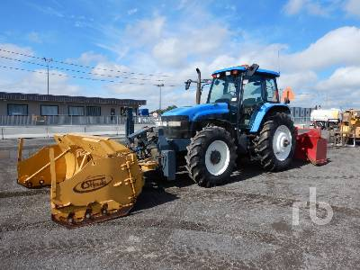 2003 NEW HOLLAND TM140 MFWD Tractor