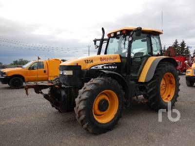 2004 NEW HOLLAND TM120 MFWD Tractor