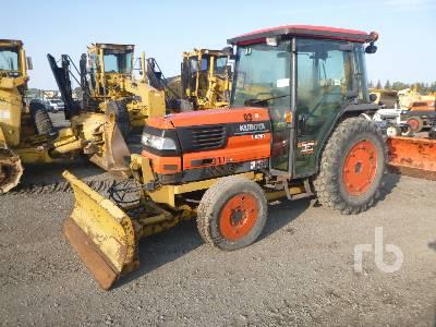 2003 KUBOTA L3710 4WD Utility Tractor