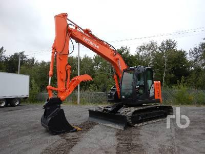 2016 HITACHI ZX135US-5B Hydraulic Excavator