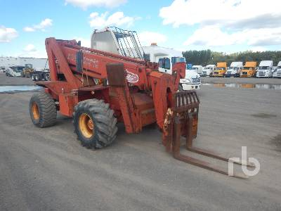 1990 MANITOU MT430CPDS 10000 Lb 4x4x4 Telescopic Forklift