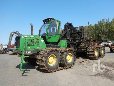 2015 JOHN DEERE 1910E 8x8 Forwarder