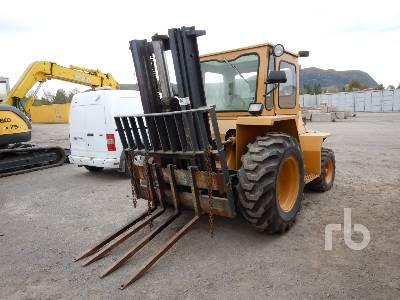 1983 SELLICK 8000 Lb 4x4 Rough Terrain Forklift