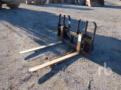HLA 48 In. Wheel Loader Forks