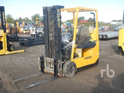 2004 HYSTER J40ZT 1700 Kg Ride On Electric Forklift