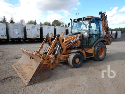 2011 CASE 580SN Loader Backhoe