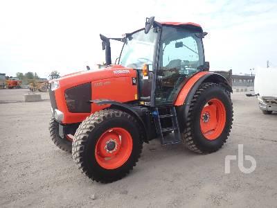 2017 KUBOTA M6-101 MFWD Tractor