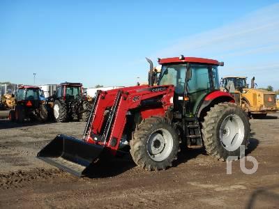 2013 CASE IH MAXXUM 120 MFWD Tractor