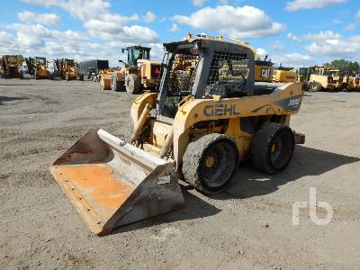2009 GEHL 7810E Skid Steer Loader