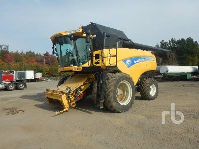 2008 NEW HOLLAND CX8080 RWA Combine