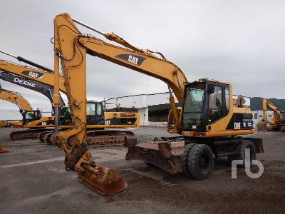 2002 CATERPILLAR M312 4x4 Mobile Excavator