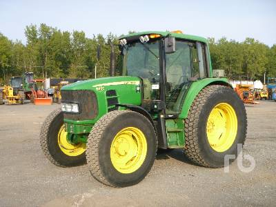 2010 JOHN DEERE 6430 MFWD Tractor