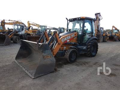 2018 CASE 580SN 4x4 Loader Backhoe