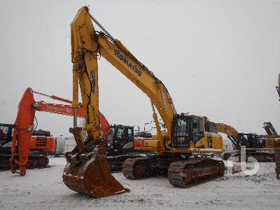 2017 KOMATSU PC490LC-11 Hydraulic Excavator
