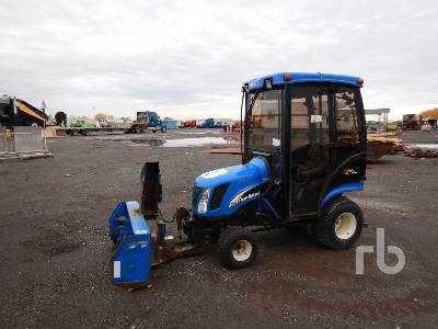 2006 NEW HOLLAND TZ25DA 4WD Utility Tractor