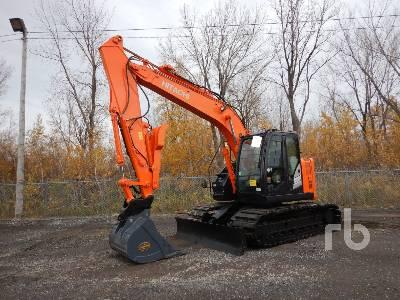 2014 HITACHI ZX135US-5B Hydraulic Excavator
