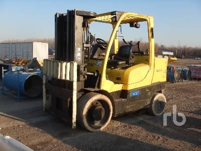 2007 HYSTER S155FT 9300 Lb Forklift