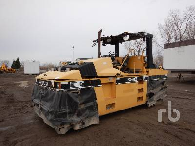 2001 CATERPILLAR PS300B Pneumatic Roller