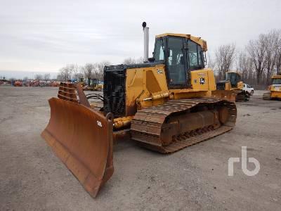 2010 JOHN DEERE 850J LGP Crawler Tractor