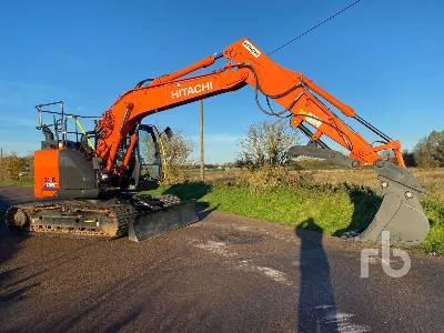 2019 HITACHI ZX135US-5B Hydraulic Excavator