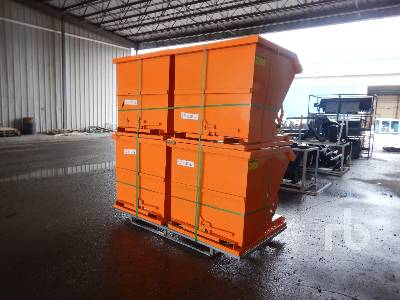Unused Qty Of 4 Self Dumping Hoppers Container Equipment - Other
