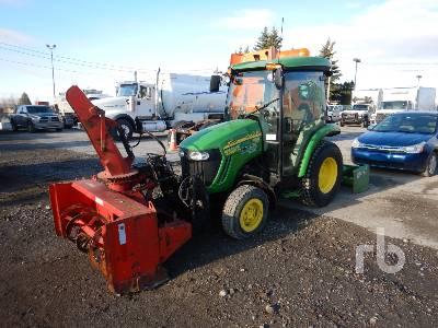 2011 JOHN DEERE 3720 4WD Utility Tractor