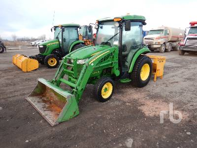 2014 JOHN DEERE 3046R Utility Tractor