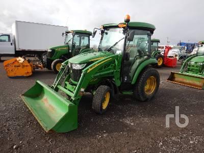 2014 JOHN DEERE 3033R MFWD Utility Tractor